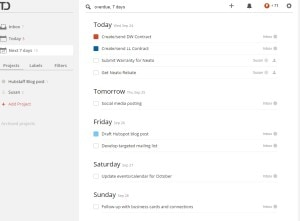 Todoist online to-do-list