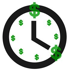 When paying contractors, time is money